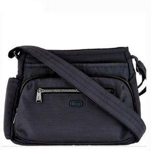 Lug Infinity Collection Shimmy Crossbody Bag